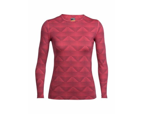 Icebreaker Oasis LS Crewe Diamond women