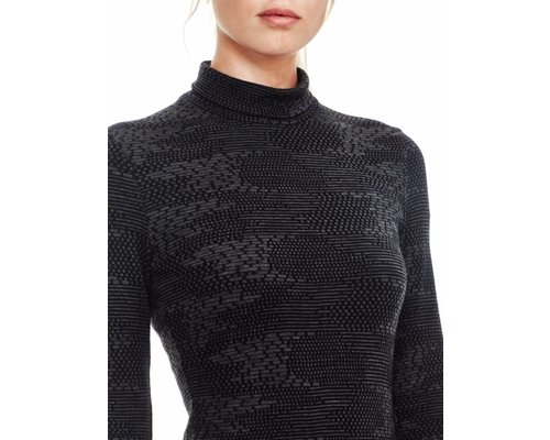 Icebreaker Vertex LS Turtleneck Flurry women