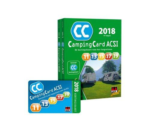 ACSI Campingcard 2018