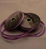 Central Craft Collection 3mm satinbånd Mørk lilla