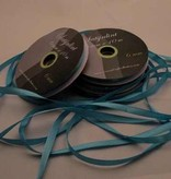 Central Craft Collection 6mm Satin-Band-Blues