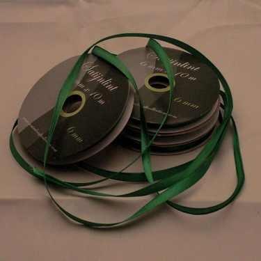 Central Craft Collection 6mm Satijnlint Groen
