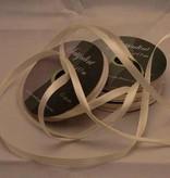 Central Craft Collection 6mm Satin-Band-Elfenbein