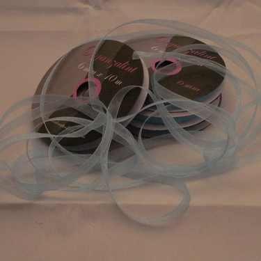 Central Craft Collection 3mm Organzalint Baby Blauw