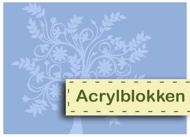 Acryl-Blöcke