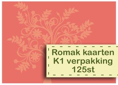 Romak Karten K1 Paket 125st