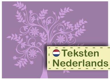 Texts Dutch