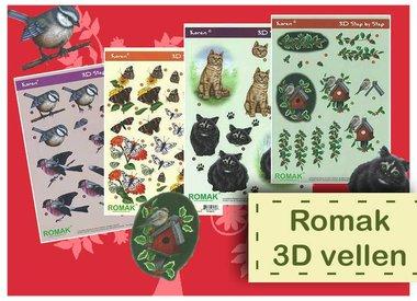 Feuilles Romak 3D
