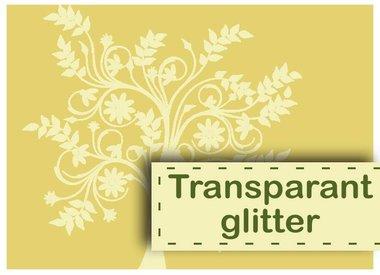 Glitter transparent