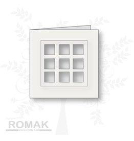 Romak Romak carte blanche 125 pièces