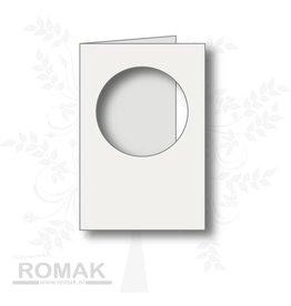 Romak Romak Karte Elfenbein 125 Stück