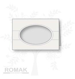Romak Romak Card White 125 stykker
