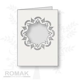 Romak Romak Karten-Weiß-125 Stück