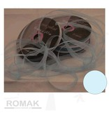 Central Craft Collection 6mm Organzalint Baby Blauw