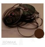 Central Craft Collection Band Organza 3mm Dunkelbraun