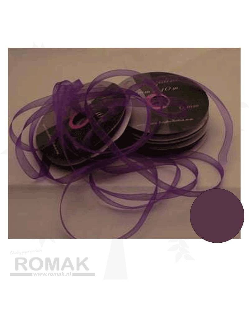 Central Craft Collection 6mm Organzalint Donker Paars