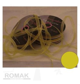 Central Craft Collection Band Organza 3mm Gelb