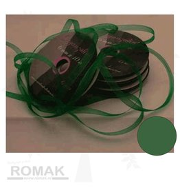 Central Craft Collection Ruban organza 3mm vert