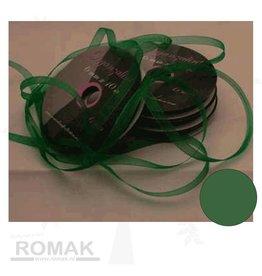 Central Craft Collection Ruban organza 3mm vert