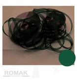 Central Craft Collection 6mm Organza Ribbon jul Green