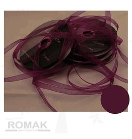 Central Craft Collection Ribbon Organza 3mm Purple
