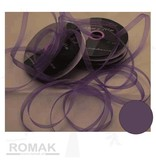 Central Craft Collection 6mm lila Band Organza