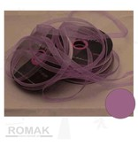 Central Craft Collection 6mm Band Organza Lila