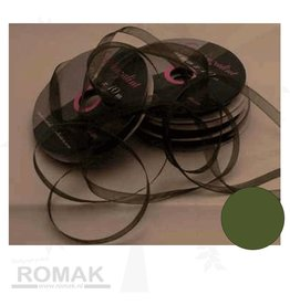 Central Craft Collection Ribbon Organza 3mm Moss
