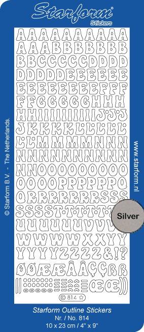 Starform alfabet Capitals