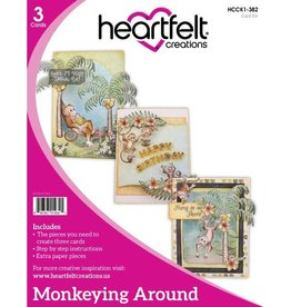 Heartfelt Monkeying Around Card Kit