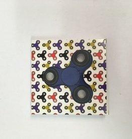 Fidget Spinner bleu - noir