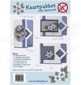 Hobby Idee Card Package with die cut sheet Hobby Christmas Idea