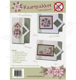 Hobby Idee Card Package with die cut sheet Hobby Christmas Idea
