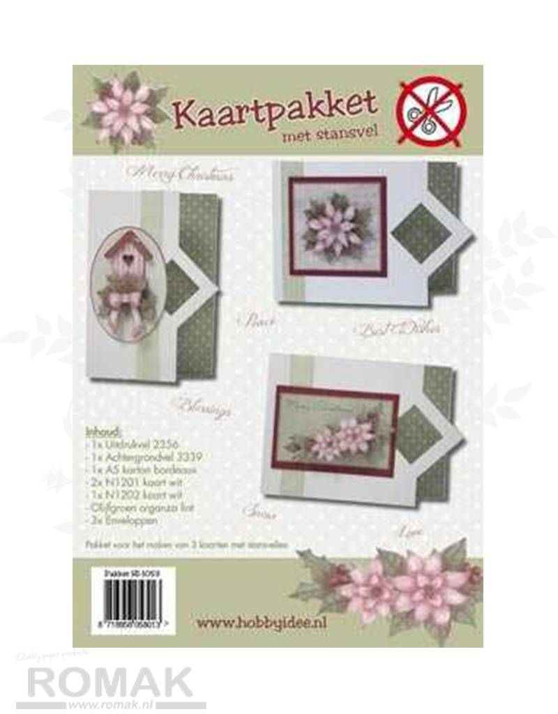 Hobby Idee Card Pakke med udstanset ark Hobby jul Idea