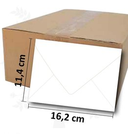 Romak Envelopes C6 White Romak