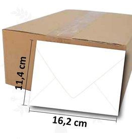 Romak Enveloppes C6 blanc Romak
