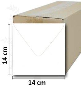 Romak Enveloppes carré blanc Romak
