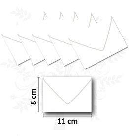 Visitekaart enveloppen 25 stuks