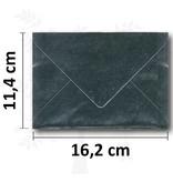 C6 Umschlag Silber