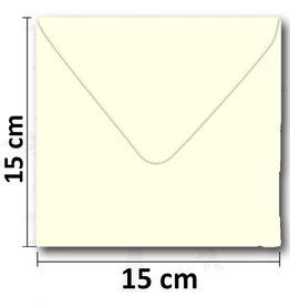 Konvolutter firkantet fløde 154 * 154 mm