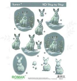 Romak 3D sheet Romak Hare Rabbit