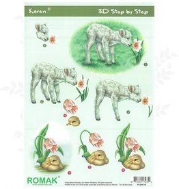 Romak 3D sheet Romak Karen Animals