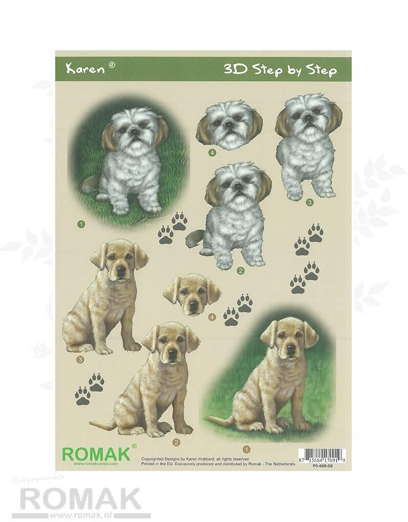 Romak 3D Bogen Romak Karen Hunde