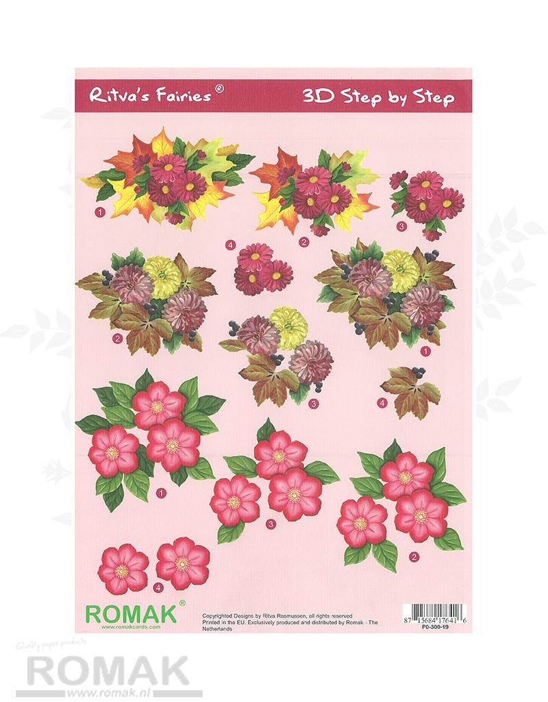 Romak 3D Bogen Romak Ritva der Flower Fairies