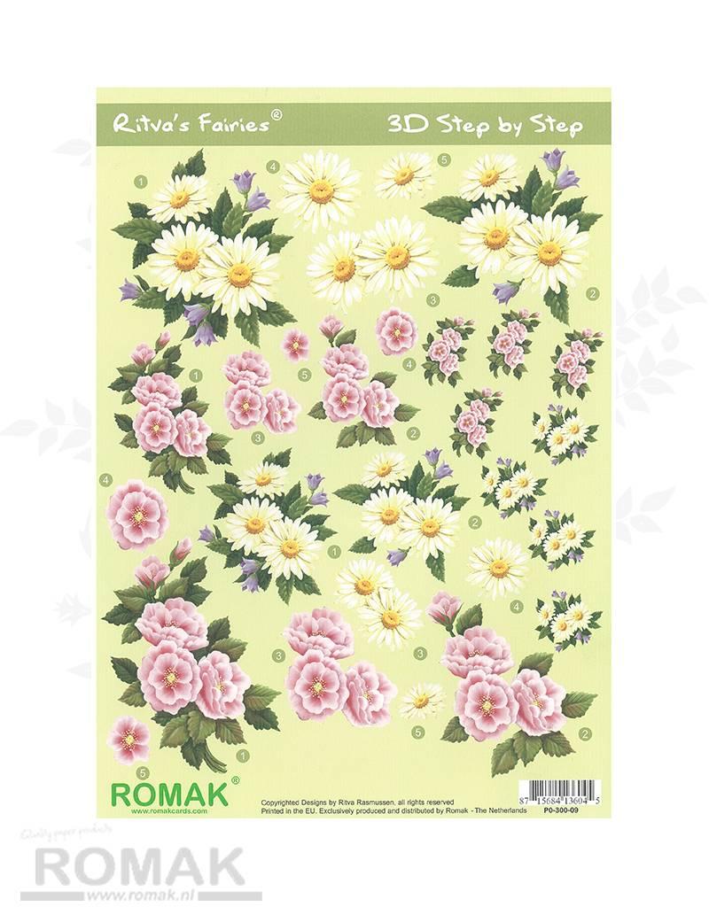 Romak 3D ark Romak Ritva s Flower Fairies