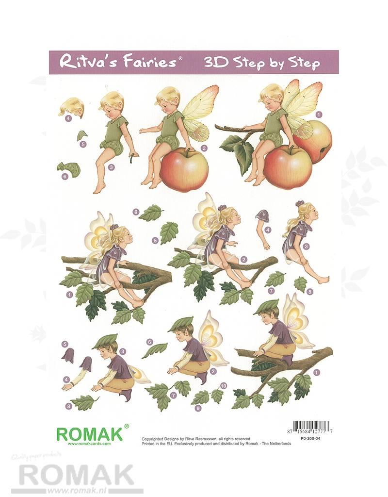 Romak 3D Bogen Romak Ritva Fairies