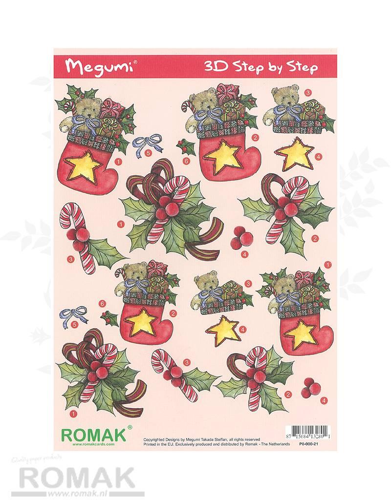 Romak 3D Bogen Romak Megumi Weihnachten