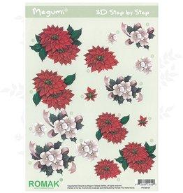 Romak Feuille 3D Romak Megumi Fleurs