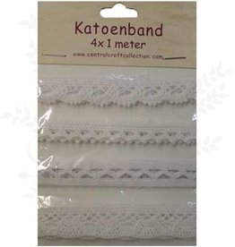 Central Craft Collection Katoenband 4x1 meter