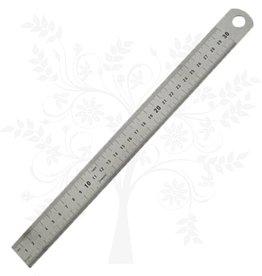 Règle 30 cm acier